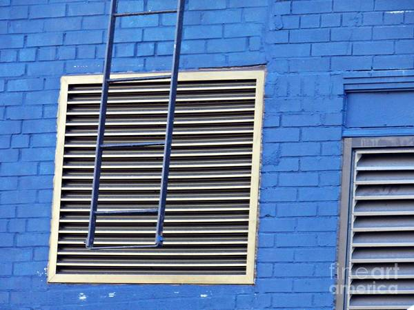 Wall Art - Photograph - Blue Wall 4 by Sarah Loft