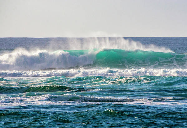 Photograph - Blue Waves by Anthony Jones