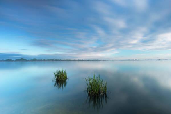 Photograph - Blue Whirlpool by Davor Zerjav
