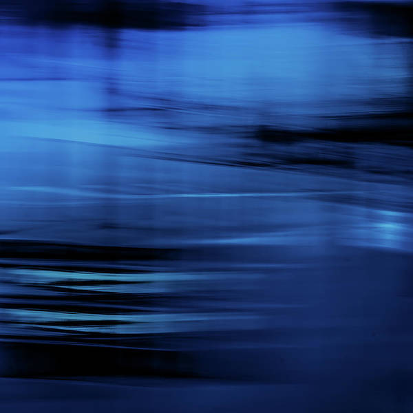 Photograph - Blue Wind II by Anne Leven
