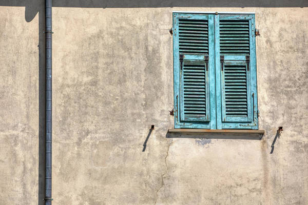 Photograph - Blue Window Shutter Of Cinque Terre by David Letts