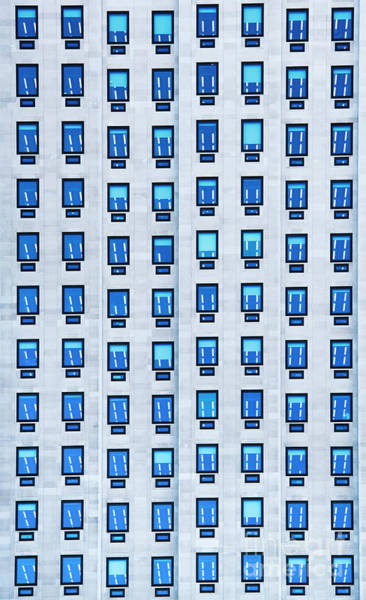 Southbank Photograph - Blue Windows by Tim Gainey