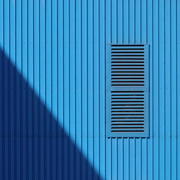 Photograph - Blue With Grille by Stuart Allen