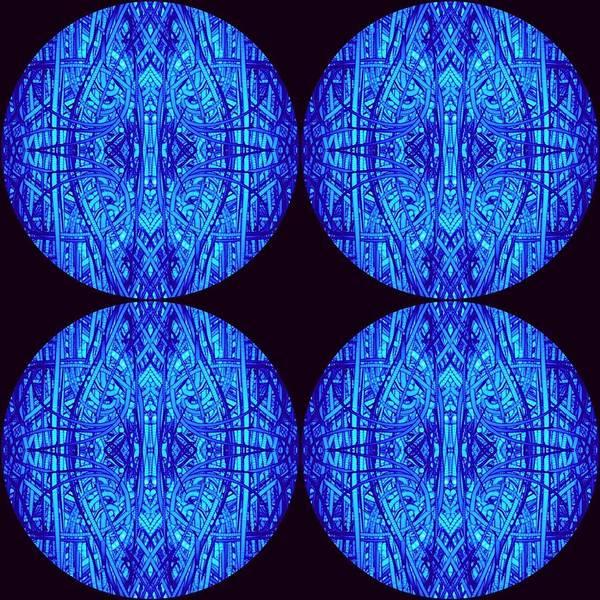 Wall Art - Digital Art - Yoga Mind Planets by Evelyn Catt