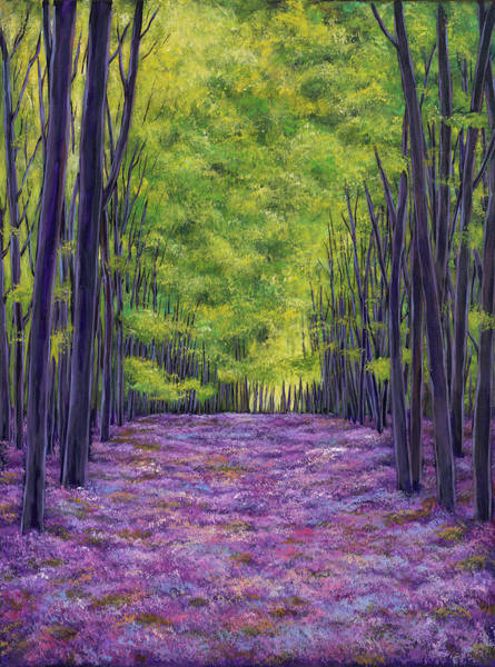 Wall Art - Painting - Bluebells And Daydreams by Johnathan Harris