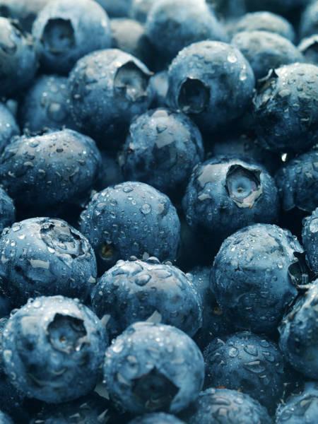 Wall Art - Photograph - Blueberries Vertical by Joecicak