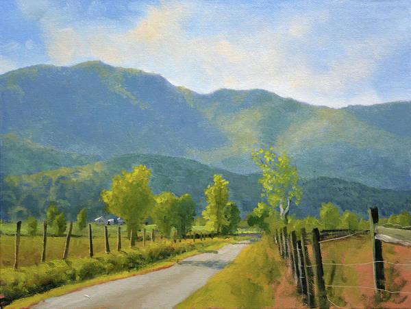 Wall Art - Painting - Blueridge Backroads by Armand Cabrera