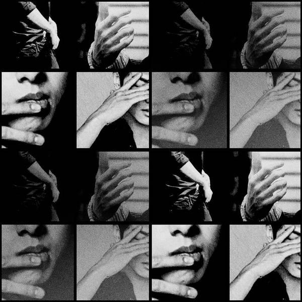 Mixed Media - Blues  by Ellie Perla