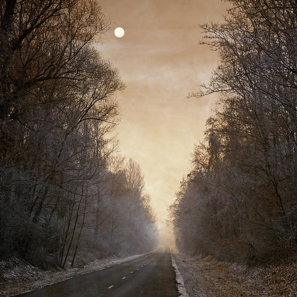 Straight Photograph - Blues Is The Road by Philippe Sainte-laudy Photography