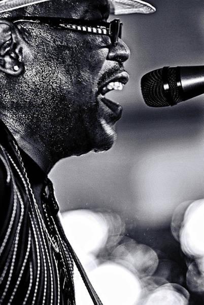 Photograph - Bluesman Big Bill Morganfield by Bill Jonscher