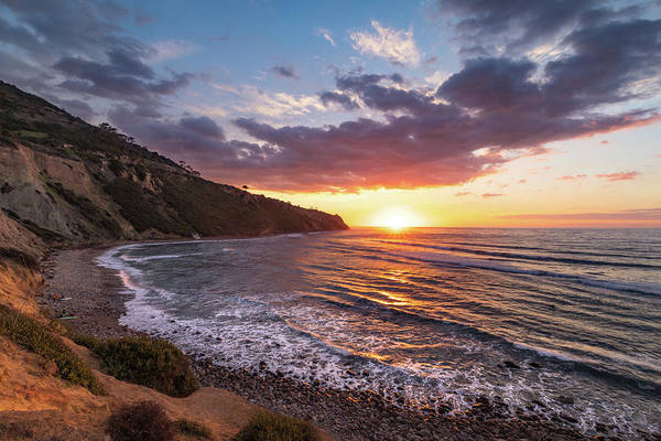 Photograph - Bluff Cove At Sunset by Andy Konieczny