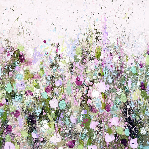 Painting - Blush Meadow by Tracy-Ann Marrison