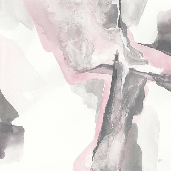 Wall Art - Painting - Blushing Grey II by Chris Paschke