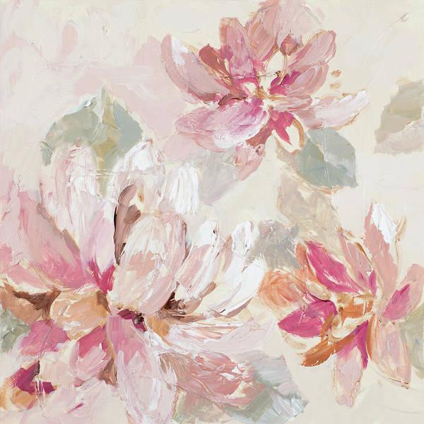 Wall Art - Painting - Blushing Spring I by Lanie Loreth