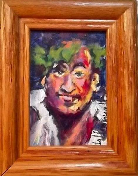 Painting - Bluto by Les Leffingwell