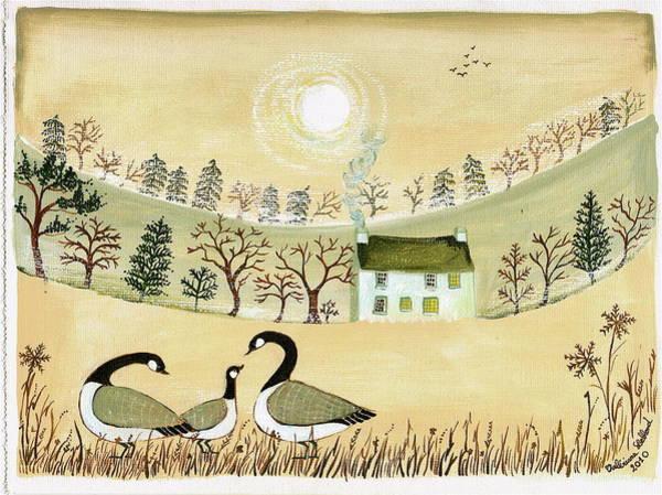 Goose Digital Art - Blwyddyn Newydd Dda by Valériane Leblond