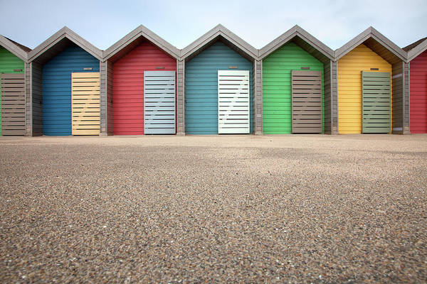 Beach Hut Photograph - Blyth Beach Huts by Billy Currie Photography