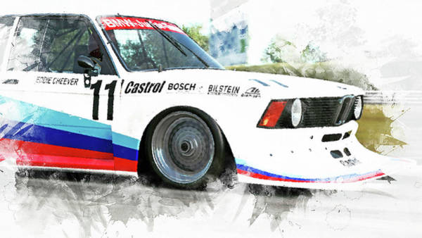 Painting - Bmw 320 1978 - 10 by Andrea Mazzocchetti