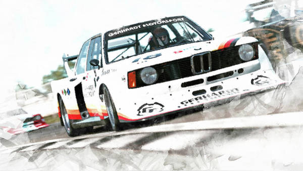 Painting - Bmw 320 1978 - 12 by Andrea Mazzocchetti