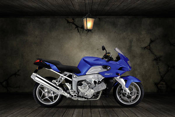 Wall Art - Mixed Media - Bmw K1200r Old Room by Smart Aviation