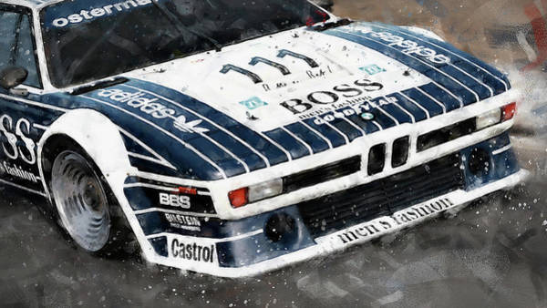 Painting - Bmw M1 - 27 by Andrea Mazzocchetti