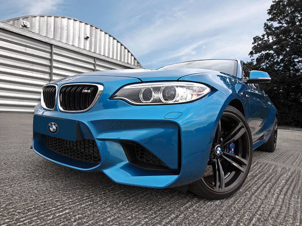 Wall Art - Photograph - Bmw M2 Coupe by Gill Billington