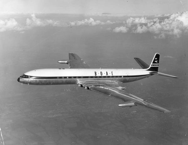 1958 Photograph - Boac Comet  4 by Keystone