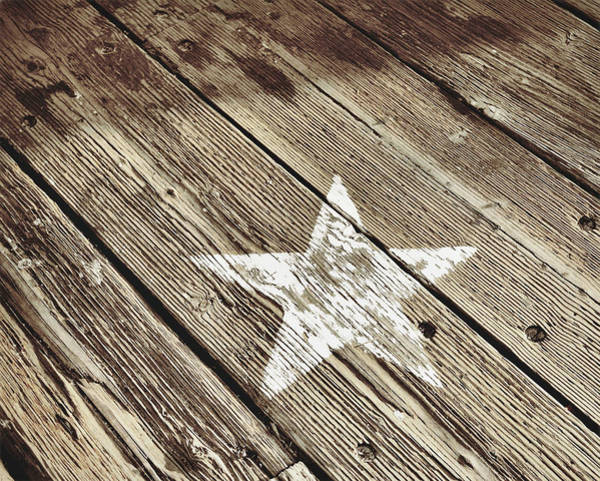 Photograph - Boardwalk Star by JAMART Photography