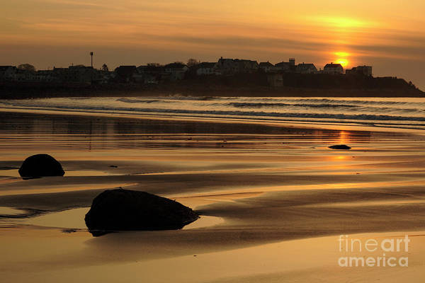 Photograph - Boars Head Sunrise - Hampton Beach, New Hampshire by Erin Paul Donovan