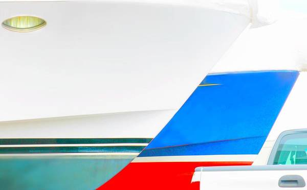Wall Art - Photograph - Boat Abstract #17 by Diana Angstadt
