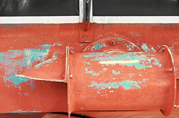 Wall Art - Photograph - Boat Abstract #c by Diana Angstadt