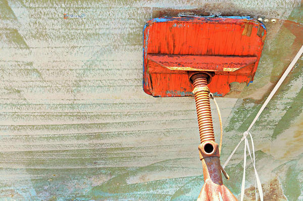 Wall Art - Photograph - Boat Abstract #d by Diana Angstadt