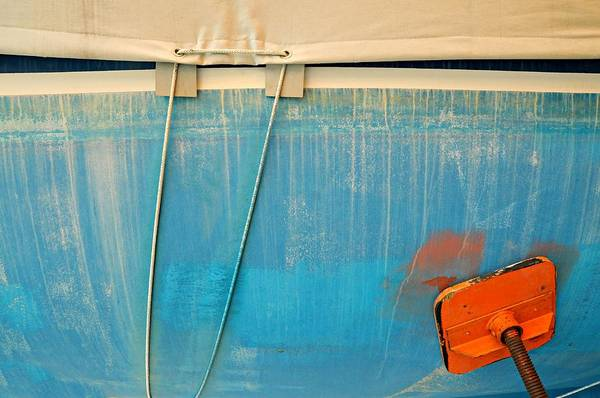Wall Art - Photograph - Boat Abstract #l by Diana Angstadt