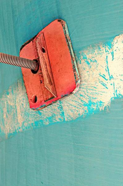 Wall Art - Photograph - Boat Abstract #n by Diana Angstadt