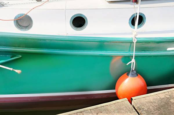 Wall Art - Photograph - Boat Abstract #p by Diana Angstadt