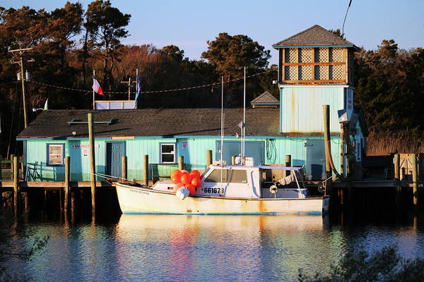 Photograph - Boat And Market by Cynthia Guinn