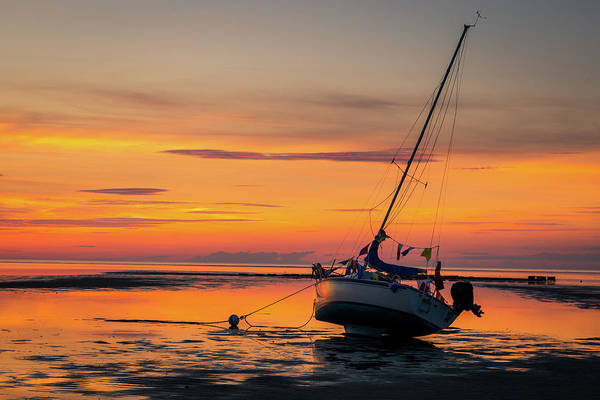 Wall Art - Photograph - Boat On The Bay by Kenneth Buderman