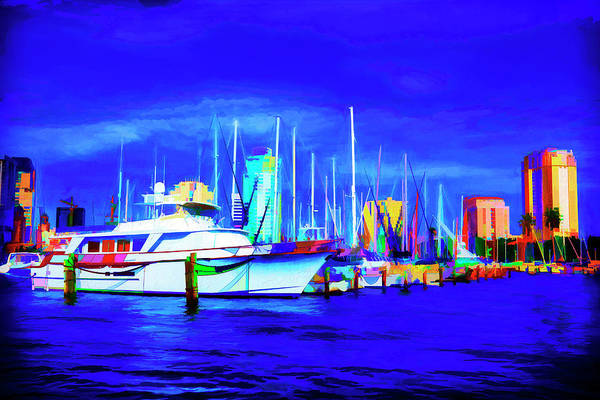 Photograph - Boat Painting Series 9055 by Carlos Diaz