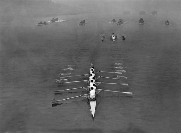 Sport Photograph - Boat Race 1939 by Topical Press Agency