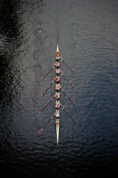 Rowing Wall Art - Photograph - Boat Race by Fuse