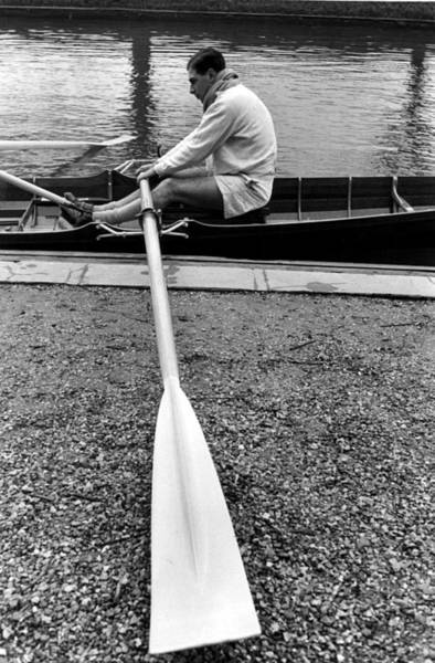 Rowing Photograph - Boat Racer by John Chillingworth