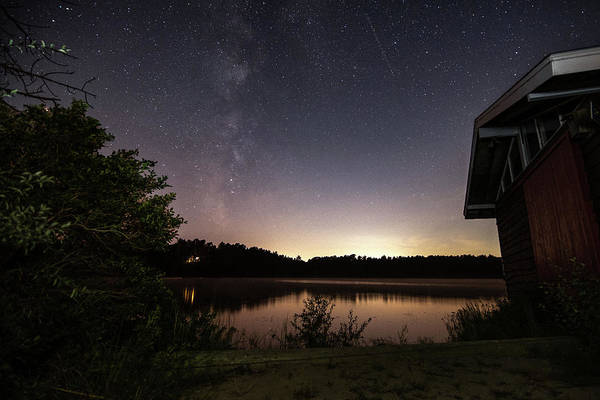 Cachalot Wall Art - Photograph - Boathouse View Of The Milky Way by Dennis Wilkinson
