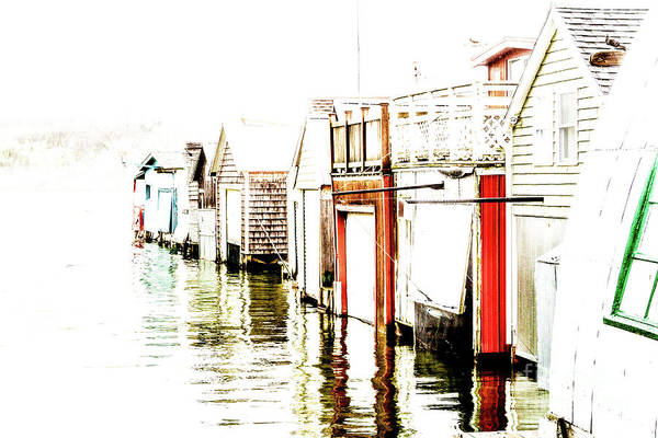 Wall Art - Photograph - Boathouse Winter by William Norton