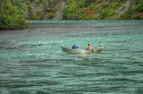 Wall Art - Photograph - Boating Along The Kenai River by Dyle Warren