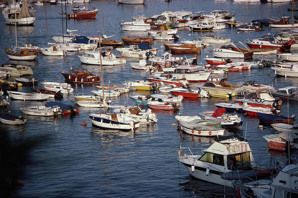 Harbor Photograph - Boating Holidays by Slim Aarons