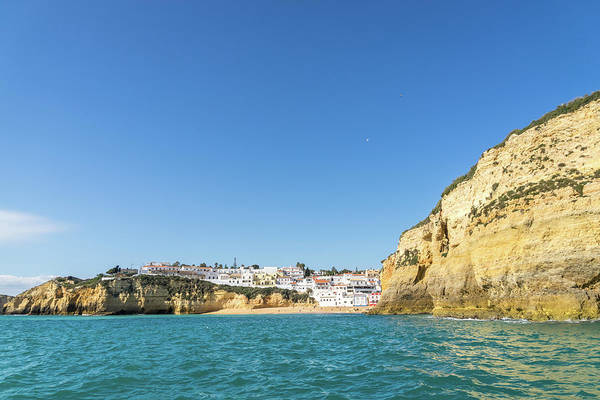 Photograph - Boating Off The Coast Of Carvoeiro - Because You Need A Vacation In The Sun by Georgia Mizuleva