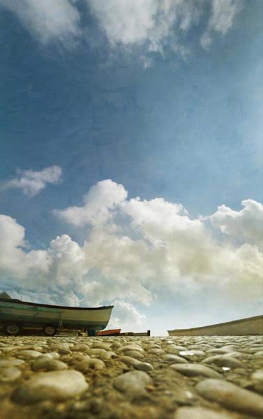 Jason Day Photograph - Boats And Big Sky by S0ulsurfing - Jason Swain