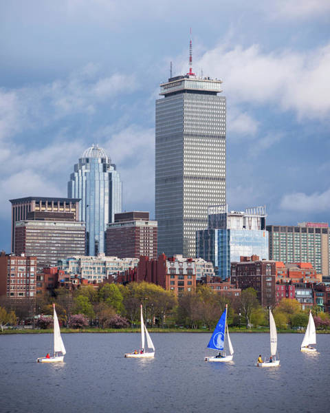 Wall Art - Photograph - Boats Around The Pru Charles River Boston Ma by Toby McGuire