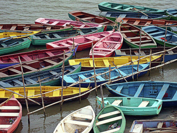 India Photograph - Boats At Pichavaram, Tamilnadu,india by Photo By Learning.photography (gautam Chakrabarti) - India