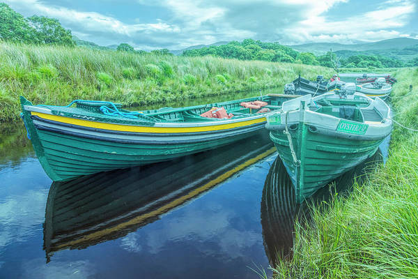 Photograph - Boats In The Soft Morning Light by Debra and Dave Vanderlaan